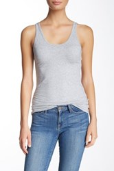 Andrea Jovine Double Scoop Tank Gray