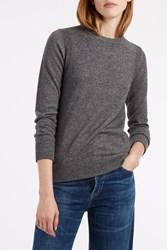 Rosetta Getty Women S Crewneck Jumper Boutique1 Grey