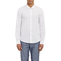 James Perse Men's Washed Voile Shirt White