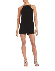 Sanctuary Crepe Romper Black