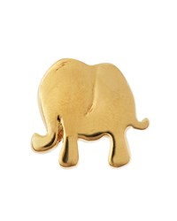 18K Gold Elephant Charm For Locket Loquet London