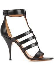 Givenchy Multi Strap Sandals Black