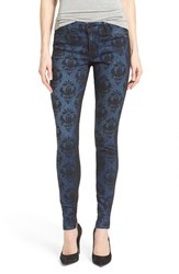 Women's Cj By Cookie Johnson 'Joy' Colorblock Print Stretch Skinny Jeans Cheryl