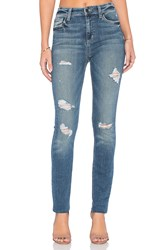 Joe's Jeans Payton Collector's Edition The Charlie Skinny Medium And Light Green Distressed