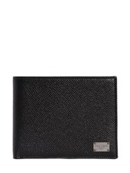 Dolce And Gabbana Dauphine Leather Coin Pocket Wallet