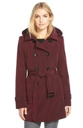 Women's Calvin Klein Double Breasted Trench Coat