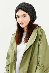 Urban Outfitters Open Slouch Beanie Black Multi
