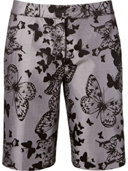 Martha Medeiros Butterfly Jacquard Shorts