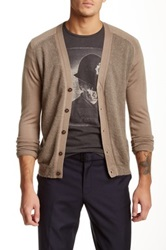 The Kooples Button Down Cardigan Beige