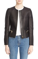Women's Burberry London 'Colliton' Quilted Leather Jacket