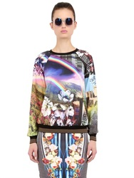 Clover Canyon Ashford Castle Printed Techno Sweatshirt