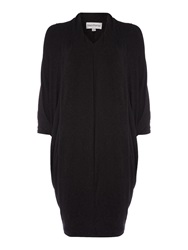 Mary Portas The Wool Magic Slouch Dress Dark Grey Marl