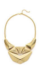Adia Kibur Shield Necklace Gold