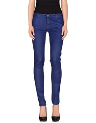 Denny Rose Trousers Casual Trousers Women Dark Blue