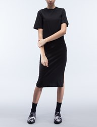 Mcq By Alexander Mcqueen Long Slit Dress