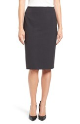 Ellen Tracy Women's High Waist Pencil Skirt