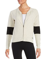 Zobha Quilted Panel French Terry Sweatshirt