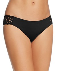 By Rebecca Virtue Siren American Bikini Bottom Black