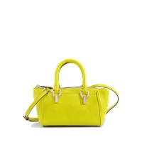 Diane Von Furstenberg Sutra Mini Duffle Deergrained Leather Bag