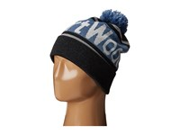 Smartwool Retro Logo Beanie Charcoal Heather Beanies Gray