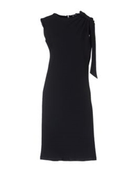 Miriam Ocariz Knee Length Dresses Black