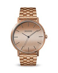 Nixon Porter Bracelet Watch 40Mm Pink