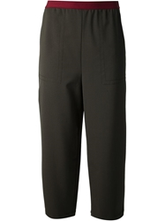 Antonio Marras Cropped Trousers Green