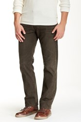 Ag Jeans Graduate Tailored Straight Leg Corduroy Pant Brown