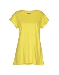 Madson Discount Topwear T Shirts Women Yellow