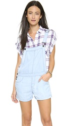 Mia Overall Shorts Light Vintage