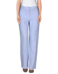 Le Tricot Perugia Trousers Casual Trousers Women Lilac