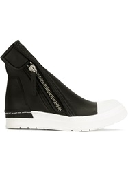 Cinzia Araia Side Zip Ankle Boots Black