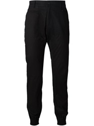 Stampd Gathered Ankle Trousers Black