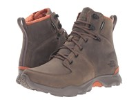 The North Face Thermoball Versa Weimaraner Brown Bombay Orange Men's Lace Up Boots