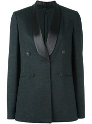 Brunello Cucinelli Shawl Collar Blazer Grey