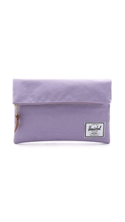 Herschel Carter Large Fold Over Pouch Electric Lilac