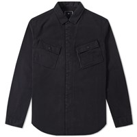 Mhi Maharishi Travel Shirt Jacket Black