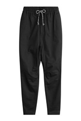 White Mountaineering Sweatpants With Cotton Black