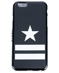Givenchy Star Striped Iphone 6 Case Black White