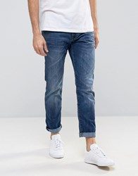 Esprit Slim Fit Jeans Dark Blue