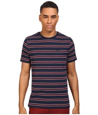 Rvca Jolly Crew Federal Blue Men's Clothing