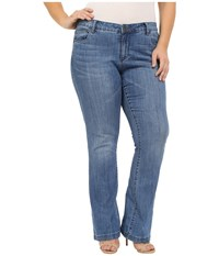 Kut From The Kloth Plus Size Chrissy Flare In Prophecy Prophecy Women's Jeans Blue