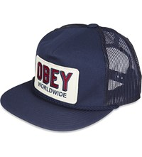 Obey Worldwide Trucker Cap Navy
