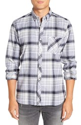 French Connection Men's 'Ijolite' Trim Fit Plaid Sport Shirt