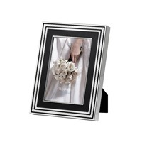 Vera Wang Wedgwood With Love Photo Frame Black 4X6