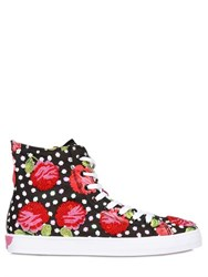 Lk Embellished Canvas Sneakers For Lvr