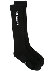 Rick Owens Mastodon Long Socks Black