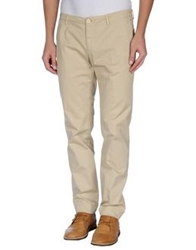 Gold Case By Rocco Fraioli Casual Pants Sand