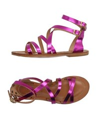 Space Style Concept Footwear Sandals Women Fuchsia