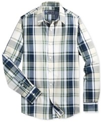 American Rag Men's Tanner Plaid Long Sleeve Shirt Only At Macy's